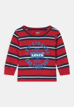 Levi's® - STRIPED - Longsleeve - red