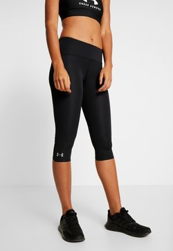Under Armour - FLY FAST SPEED CAPRI - Pantalón 3/4 de deporte - black