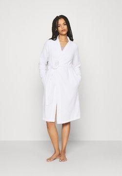 Anna Field - TERRY BATHROBE  - Dressing gown - white