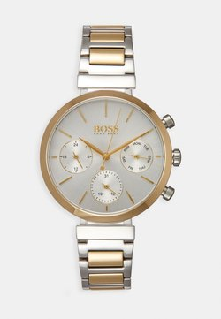 BOSS - FLAWLESS - Montre - silver-coloured/gold-coloured
