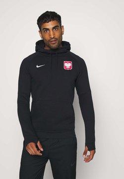 Nike Performance - POLEN HOOD - Club wear - black/white