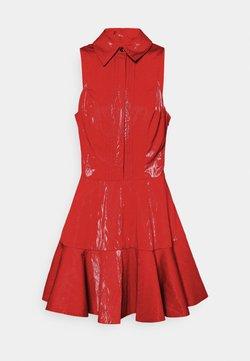 Elisabetta Franchi - Vestido camisero - amaranto