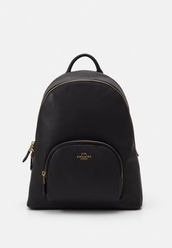 Coach - POLISHED CARRIE BACKPACK - Reppu - black