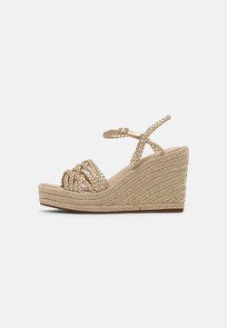 Cosmoparis - RONDINITA - Korkeakorkoiset sandaalit - platine