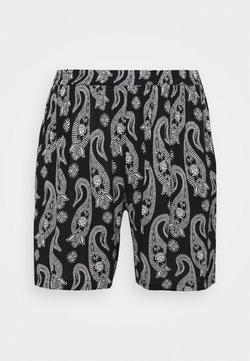 Kaffe Curve - PASSA AMI  - Shorts - black/chalk