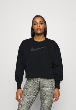 Nike Performance - DRY GET FIT CREW - Collegepaita - black/light smoke grey