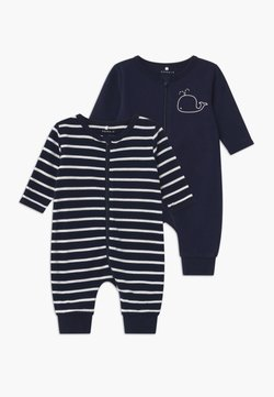 Name it - NBMNIGHT ZIP 2 PACK - Pyjama - dark sapphire