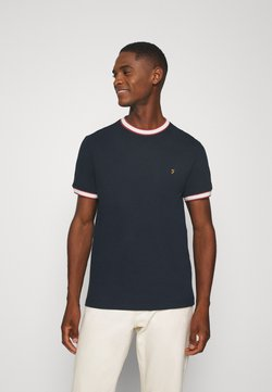 Farah - BIRMINGHAM TEE - T-shirt basic - true navy