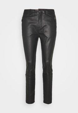 Pieszak - NEW ALEX PANT - Pantalon en cuir - black