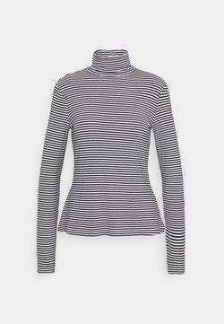Anna Field - T-shirt à manches longues - dark blue/white