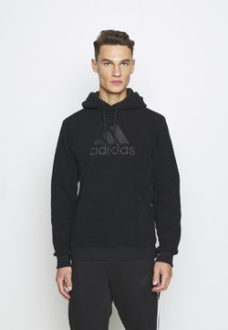 adidas Performance - MUST HAVES SPORTS INSPIRED HOODED - Huppari - black