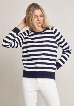 Hunkydory - Sweatshirt - white / blue