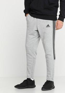 adidas Performance - MUST HAVES SPORT TIRO SLIM FIT PANT - Jogginghose - medium grey heather/black