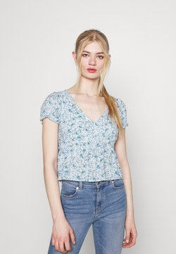Hollister Co. - BABYDOLL  - Bluse - white