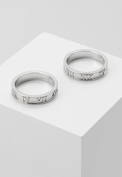 Topman - 2 PACK - Ringar - silver-coloured
