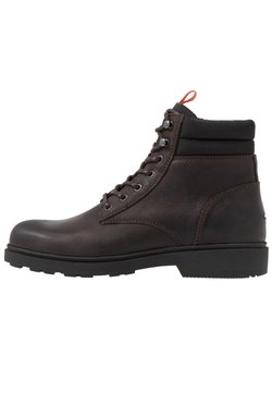 Tommy Jeans - CASUAL BOOT - Schnürstiefelette - brown