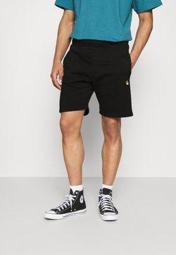 Carhartt WIP - CHASE  - Shorts - black/gold