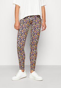 ONLY - ONLBELLA LIVE LOVE LEGGINGS  - Leggings - black flower