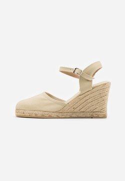 Anna Field - Korolliset sandaalit - sand