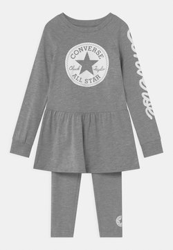 Converse - SCRIPT LOGO SET - Leggings - Hosen - dark grey heather