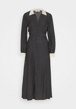 TWINSET - Vestido largo - nero/neve