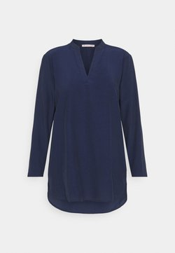 Anna Field - Basic V neck Blouse - Blouse - dark blue
