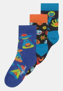 Happy Socks - SPACE CATS & UFO'S & SPORTY SPACE 3 PACK UNISEX - Calcetines - multi-coloured