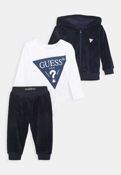 Guess - BABY SET UNISEX - Trainingspak - bleu/deck blue