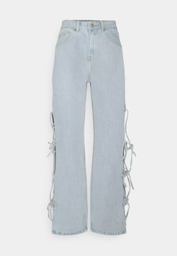 Milk it - TWINE - Jeansy Dzwony - stonewash