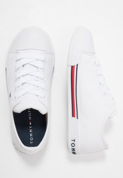 Tommy Hilfiger - Matalavartiset tennarit - white
