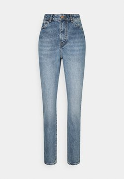 New Look Tall - WAIST ENHANCE MOM HARRY - Relaxed fit jeans - mid blue