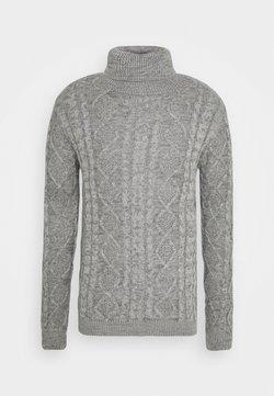 Redefined Rebel - TIMBER - Pullover - light grey melange