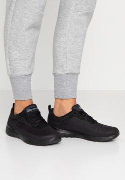 Skechers Wide Fit - WIDE FIT FLEX APPEAL 3.0 - Trainers - black