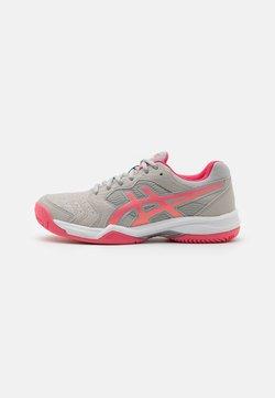 ASICS - GEL-DEDICATE 6 CLAY - Zapatillas de tenis para tierra batida - oyster grey/pink cameo