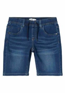 Name it - Shorts vaqueros - dark blue denim