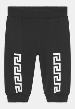 Versace - LOGO GRECA UNISEX - Pantalones - nero/bianco