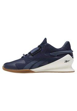 Reebok - LEGACY LIFTER II SHOES - Sneaker low - blue