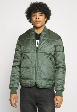 Calvin Klein Jeans - QUILTED LINER JACKET - Giubbotto Bomber - duck green