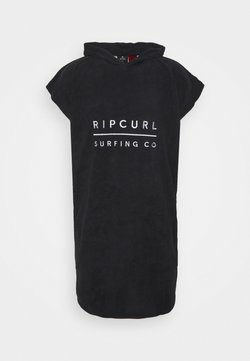 Rip Curl - HOODED TOWEL BOY - Serviette - black