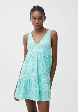 PULL&BEAR - Sukienka letnia - green
