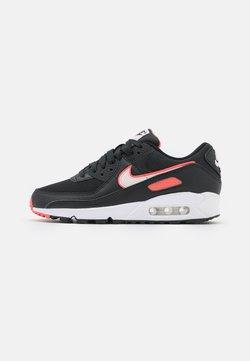 Nike Sportswear - AIR MAX 90 - Matalavartiset tennarit - black/light soft pink/magic ember/white