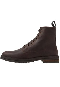 Walk London - WOLF LACE UP - Veterboots - tan