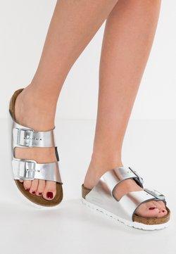 Birkenstock - ARIZONA - Pantolette flach - metallic silver