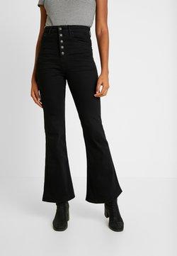 American Eagle - CURVY HIGHEST RISE - Bootcut jeans - bold black