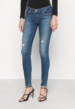 ONLY - ONLCORAL LIFE SUPERLOW - Jeans Skinny Fit - medium blue denim