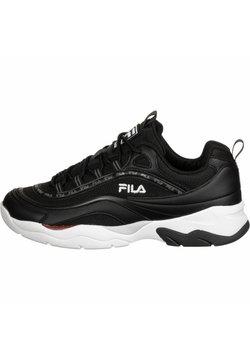 Fila - SCHUHE RAY MESH - Sneaker low - black