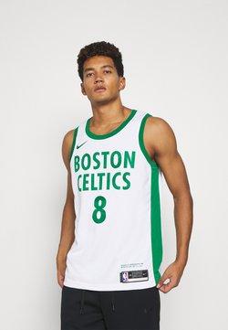 Nike Performance - NBA BOSTON CELTICS KEMBA WALKER CITY EDITION SWINGMAN - Pelipaita - white/clover