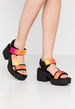 Vagabond - DIOON - Plateausandalette - pink/multicolor
