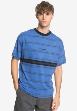 Quiksilver - BACK ON - T-Shirt print - dazzling blue
