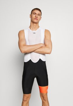 POC - ESSENTIAL ROAD BIB SHORTS - Legging - uranium black/hydrogen white